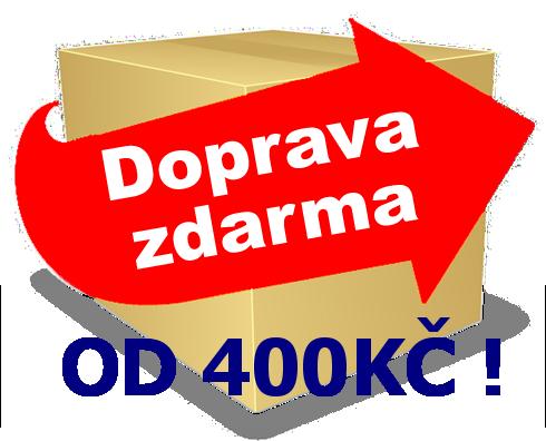 DOPRAVA ZDARMA 400