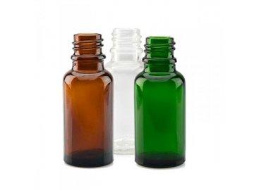 Prázdná lahvička 20ml - skleněná