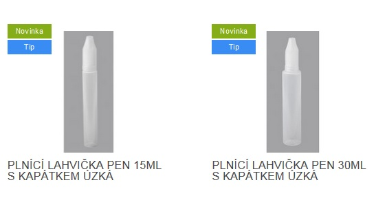lahev uzka 15,30ml
